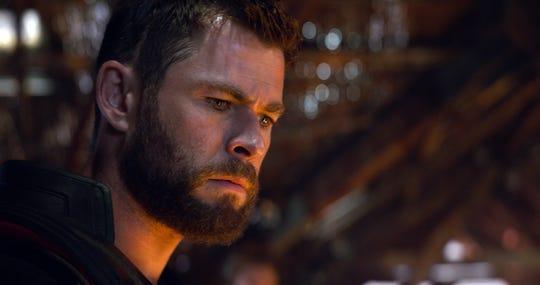 """Fotografía cedida por Marvel Studios donde aparece el actor Chris Hemsworth en el papel de Thor, durante una escena de """"Avengers: Endgame""""."""
