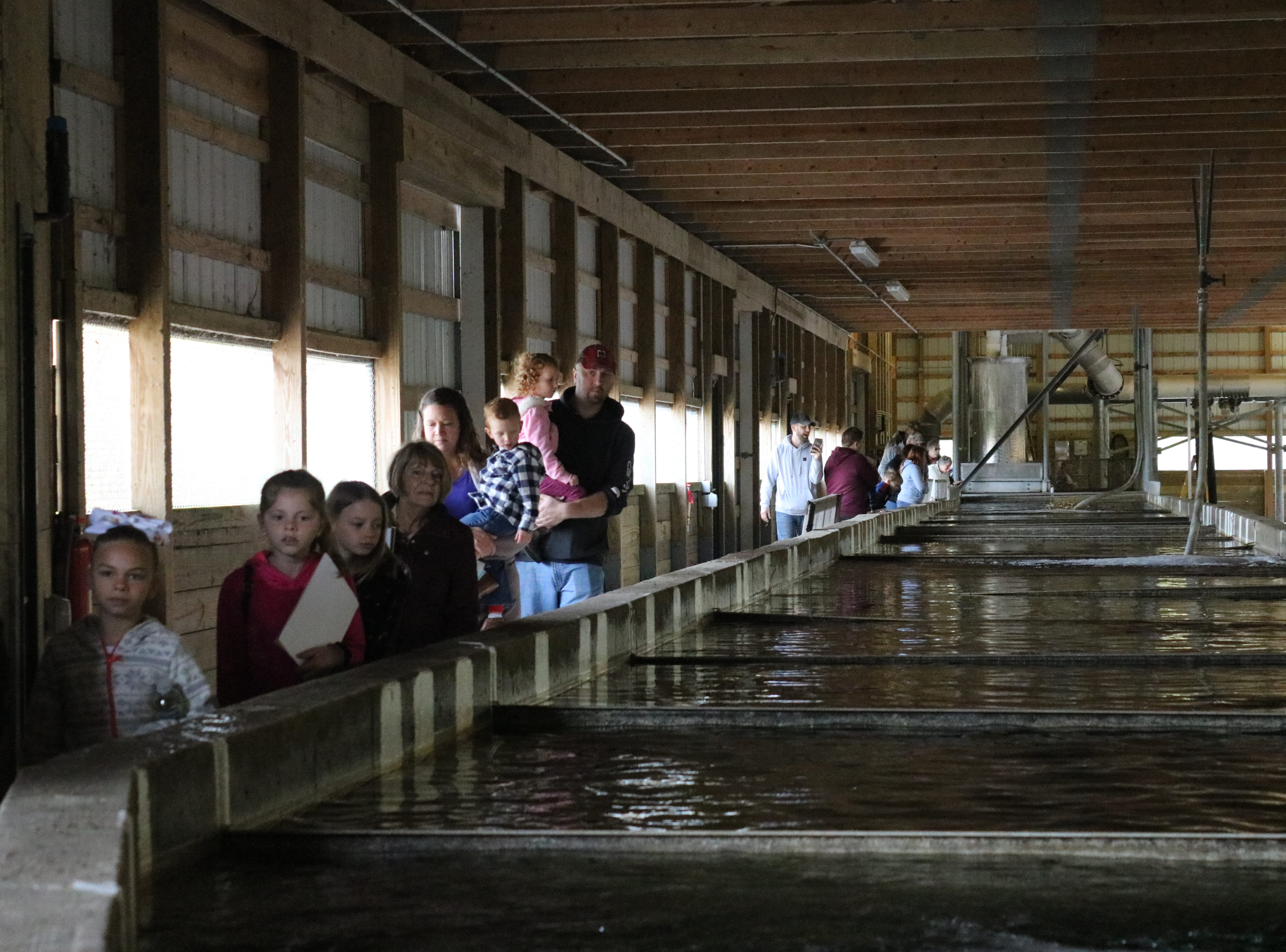 Ohio Department of Natural Resources held an open house at their state fish hatchery in Castalia on Saturday.