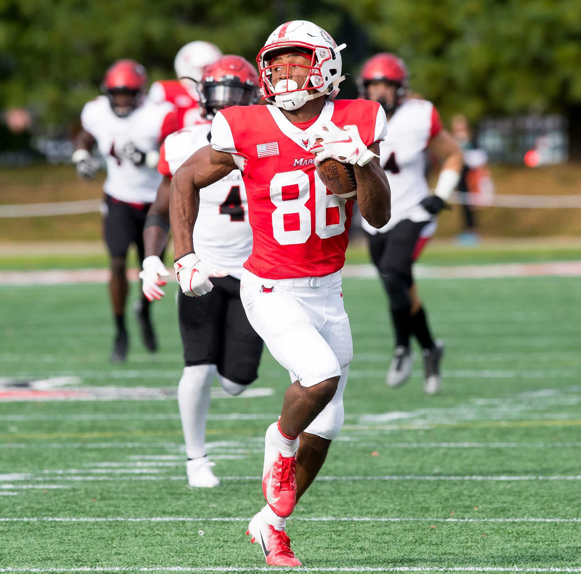 Marist wide receiver Juston Christian signed by Baltimore Ravens, aims for NFL career