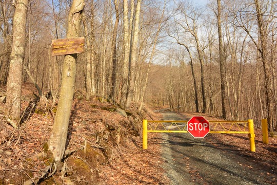 The trailhead leading to Alder Lake was closed on a recent visit.
