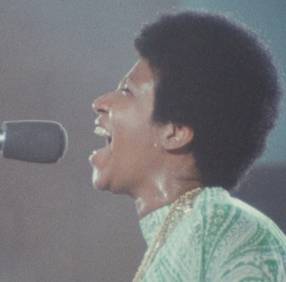 How sweet the sound is in Aretha doc 'Amazing Grace'