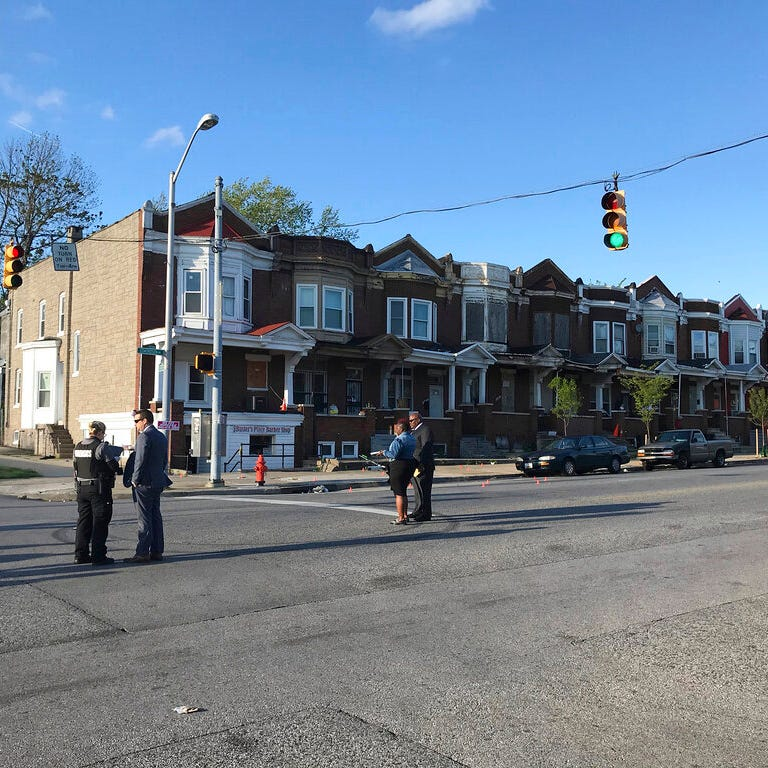 Police: 8 shot, 1 fatally, in latest Baltimore violence