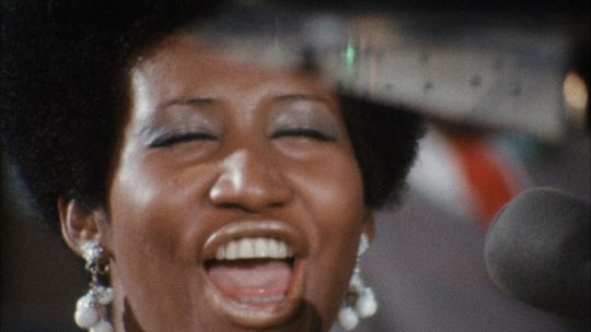"""Amazing Grace,"" a documentary filmed as Aretha Franklin performed at New Bethel Baptist Church in Watts, Los Angeles, in 1972, opens May 3 at Small Star Art House."