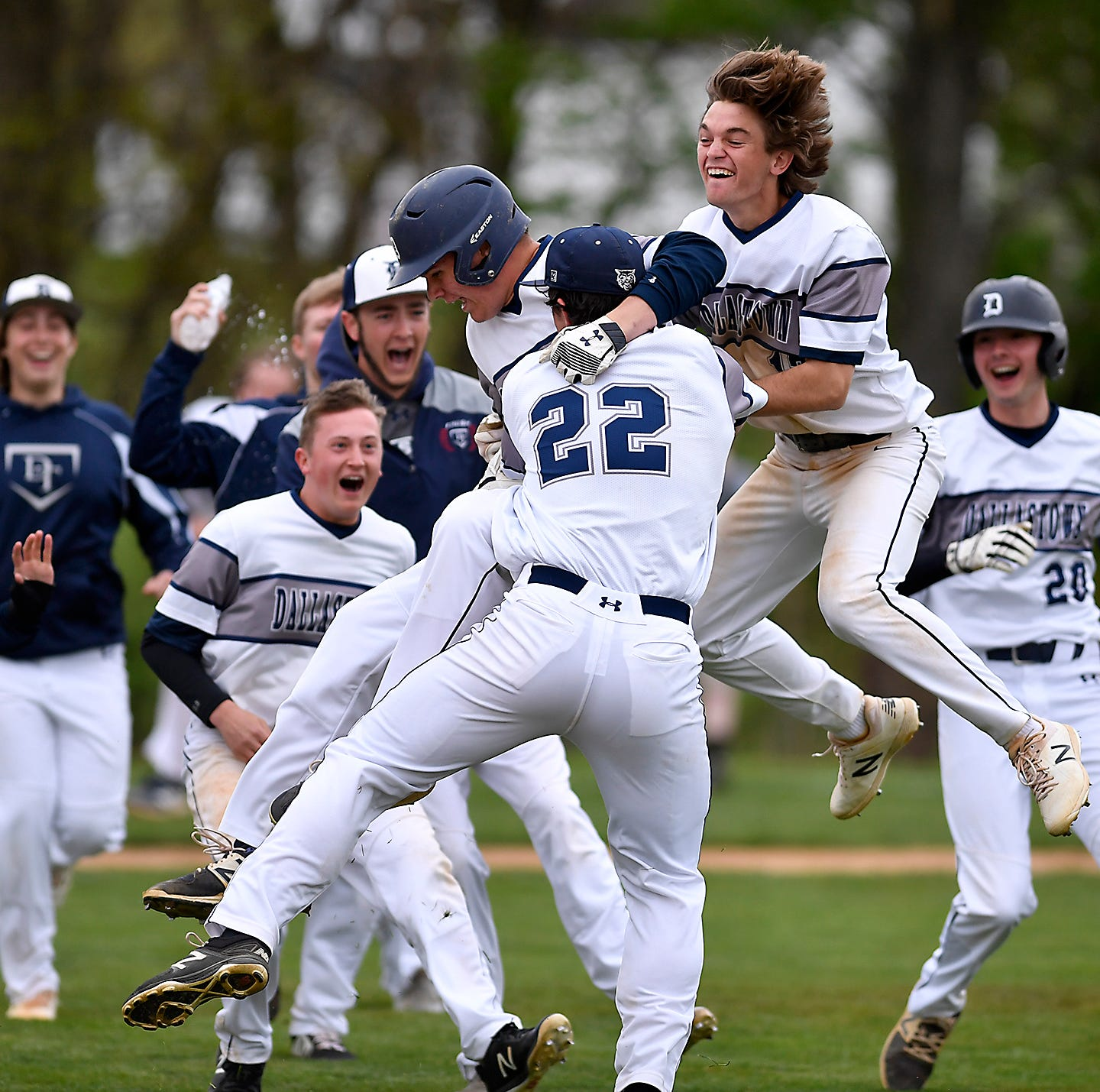 YORK-ADAMS BASEBALL, MONDAY, APRIL 29: Dallastown wins York-Adams Division I showdown