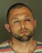 Anthony Fickes Jr., arrested for numerous crimes including aggravated assault, simple assault, strangulation and DUI.