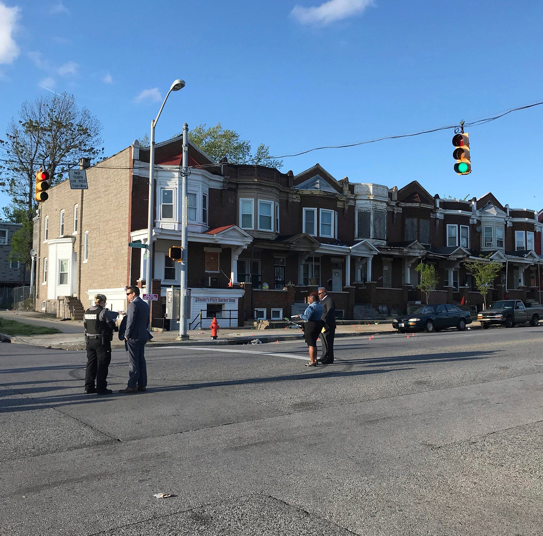 Gunman opened fire in Baltimore, killing one person and injuring  6 others, police say