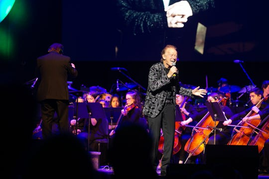 "Emmy Award-winning composer and producer Jack Allocco and musician Gary Wright perform ""Dream Weaver"" at the Rochester Music Hall of Fame's 2019 Induction Ceremony on Sunday."