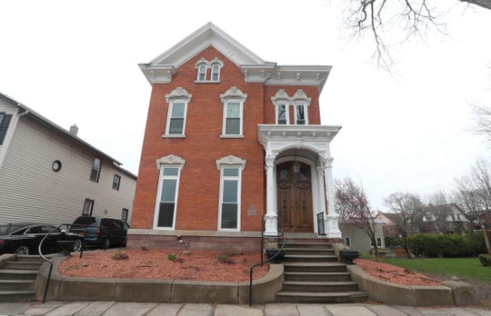 This historic city home on Marshall Street is listed at $750,000.
