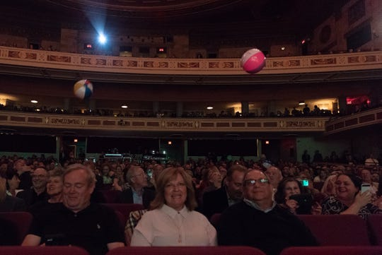 Beach balls were sent flying around Eastman Theatre during Beach Boys' founding member Al Jardine's set.