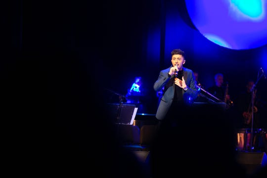 "Austin Giorgio performs ""Fly Me To The Moon"" to kick off the Rochester Music Hall of Fame's 2019 Induction Ceremony on Sunday."