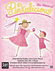 TYA will present Pinkalicious at the John Michael Kohler Arts Center on Saturday, May 4, 2019.