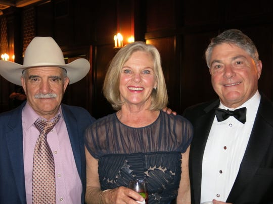 Jimmy Fontenot, Ivy and Archer  Frierson at the Plantation Ball.