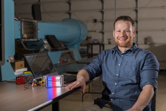 Cameron Aston, a mechanical engineering major from Southern Utah University, said he's thankful for the hands-on learning opportunities he received.