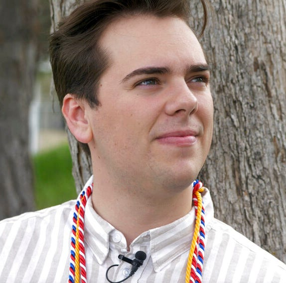 BYU valedictorian comes out in speech: 'Proud to be a gay son of God'