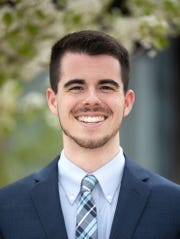 Braxton Thornley, Dixie State University's 2019 valedictorian, is an English major with an emphasis in secondary education.