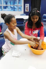 CLC campers made seed bursts which can help rebuild natural ecosystems.