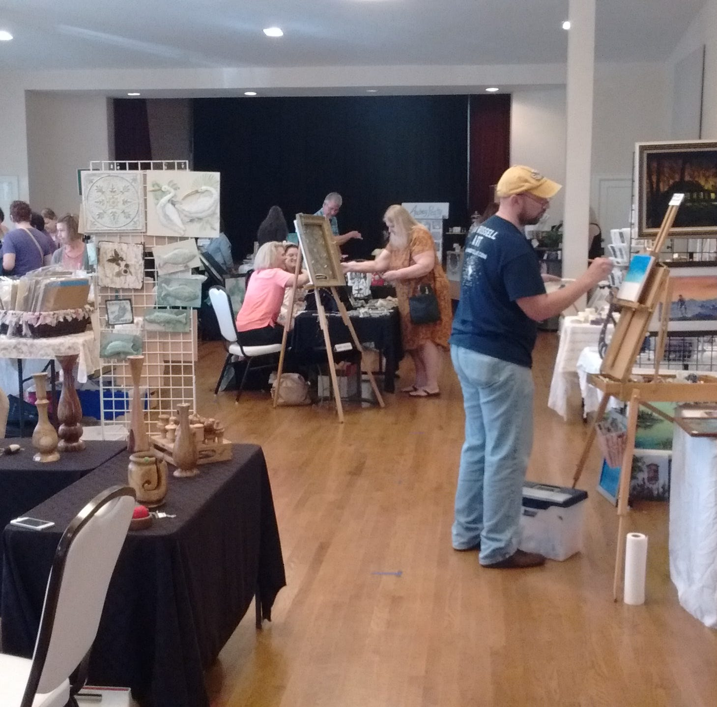 Artists Overflow a bounty at Tallahassee Junior Woman's Club