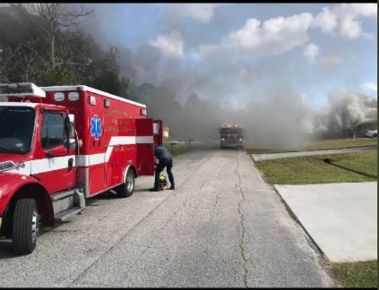 No one injured after car fire in Port St. Lucie Monday morning.