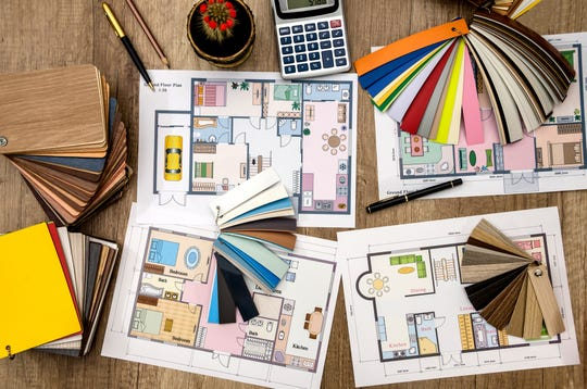 The first step of designing a new home is making decisions