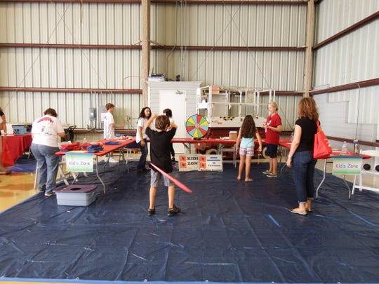 Florida's Coast to Heartland Chapter of the American Red Cross will host its annual Hangar Party in the Corporate Air Hangar of the Vero Beach Regional Airport from 5:30 to 8:30 p.m. May 17. There will be a KidsZone, games and live music from Collins & Co.A silent auction will offer items such as a portrait package from Bradford Studios, golf rounds at local private courses and much more. Pictured is a scene from the 2018 Hangar Party.
