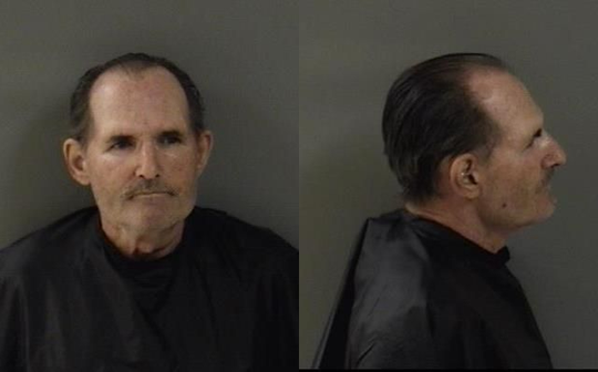 Mark Suplizio, 64, of Sebastian, was arrested on charges of aggravated battery and hindering communication to 911.