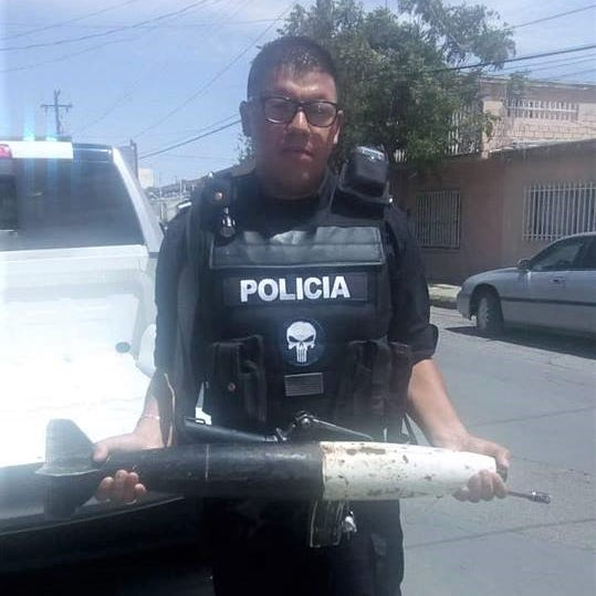Missile turned in at gun buyback in Juárez, Mexico