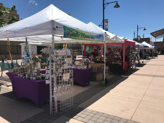 The Las Cruces Farmers Market is one of the largest in the area with more than 100 vendors on Saturday mornings.