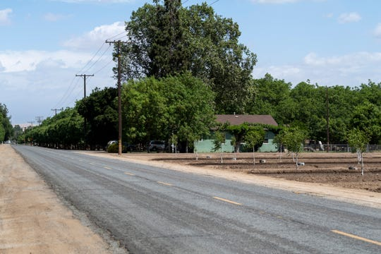 Avenue 264 west of Road 164 on Monday, April 29, 2019.
