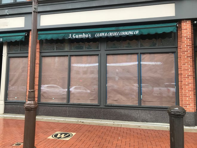 J. Gumbo's appeared closed in downtown Wausau on April 29. The building owner, Compass Properties, said a new Lemongrass Asian fusion restaurant will replace it this fall.