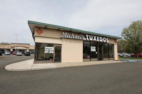 The old Michael's Tuxedos location in Nanuet April 29, 2019.