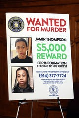 Yonkers Police Commissioner Charles Gardner and Mayor Mike Spano announce they are seeking 15-year-old Jamir Thompson for the shooting death of 18-year-old Marilyn Cotto Montanez April 29, 2019 in Yonkers.