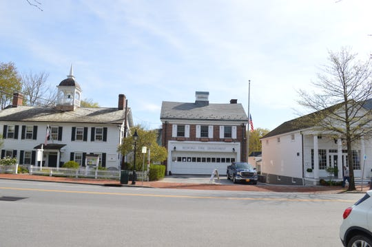 There is little room for expansion for the Bedford Fire Department firehouse in downtown Bedford village.