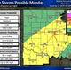 Stormy week on tap for North Texas