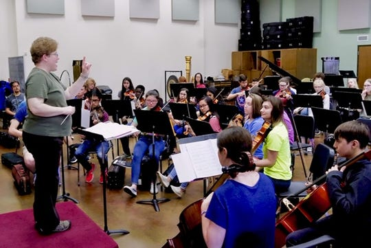Various ensembles within the Wichita Falls Youth Symphony Orchestra will perform a free concert at 1:30 and 4 p.m. Sunday in Akin Auditorium.
