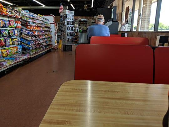 Inside Joe's Kwik Stop in Windthorst.