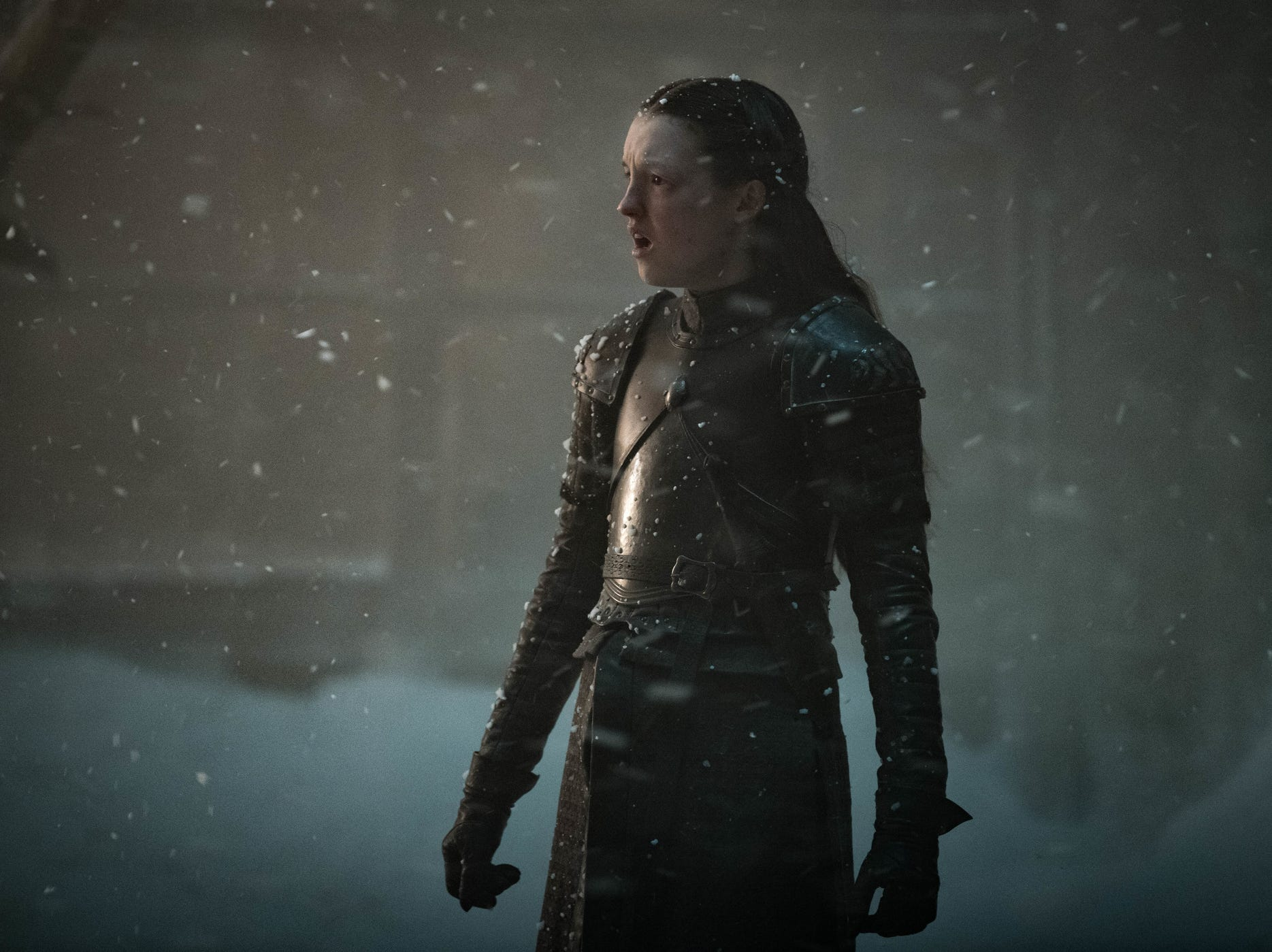 Lyanna Mormont (Bella Ramsey) committed the ultimate act of heroism in Sunday's 'Game of Thrones.'