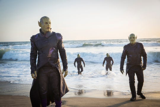 "Introduced in ""Captain Marvel,"" the shapeshifting alien Skrulls could play a major role in Marvel's future."