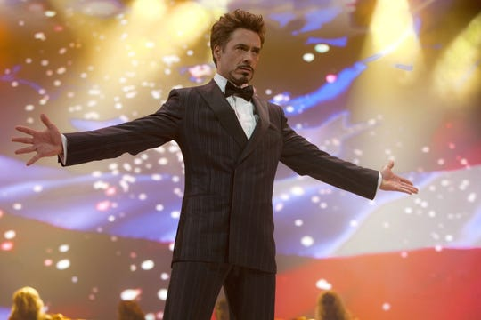 "Billionaire industrialist Tony Stark (Robert Downey Jr.) became a celebrity in ""Iron Man 2."""