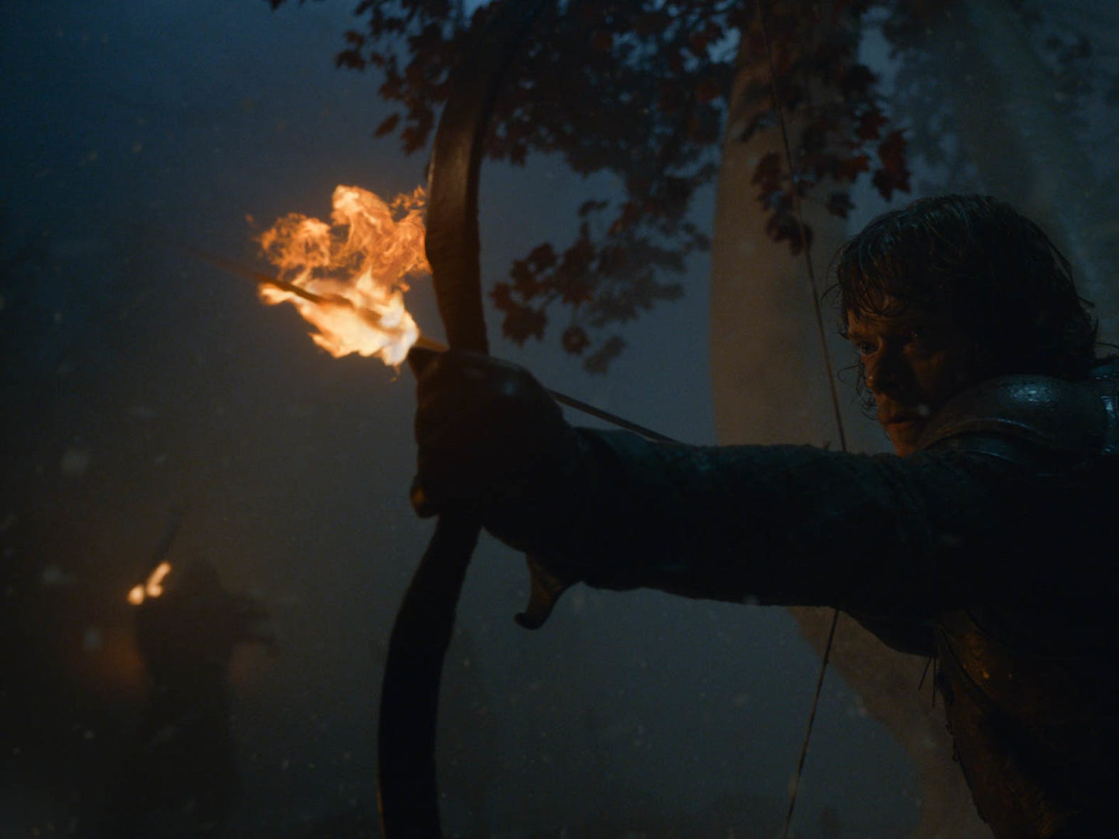 Theon Greyjoy heroically defends Bran in Sunday's episode of 'Game of Thrones.'