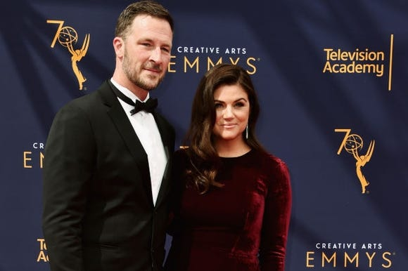 Tiffani Thiessen and Brady Smith said almost 14-year marriage works because they respect each other's creative space and process.