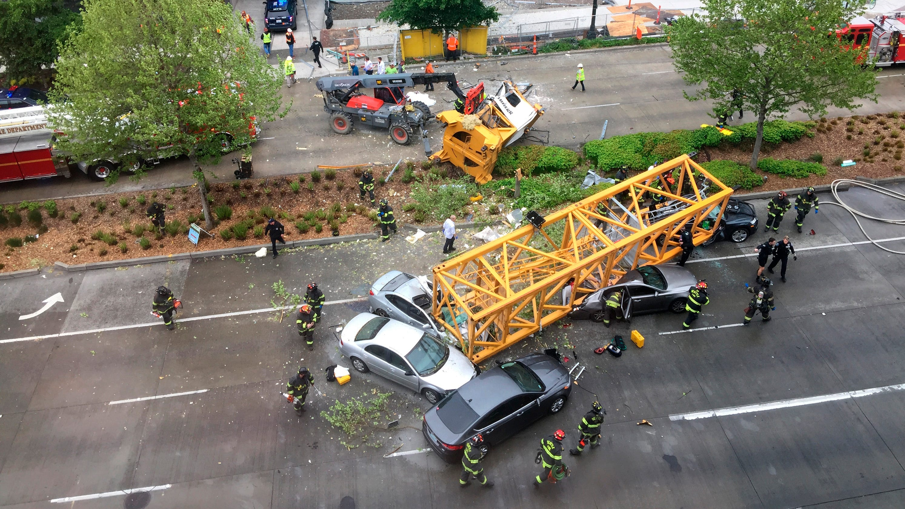 Google campus Seattle crane collapse: SPU student among