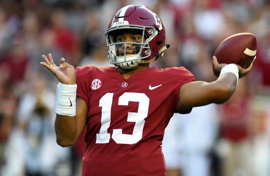 Tank for Tua? Alabama QB Tua Tagovailoa will be in the discussion for top prospect for the 2020 draft.