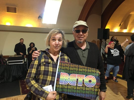 Cynthia Pelini and husband Jaime Pellicer believe Beto O'Rourke would bring a better approach to immigration issues than President Trump.
