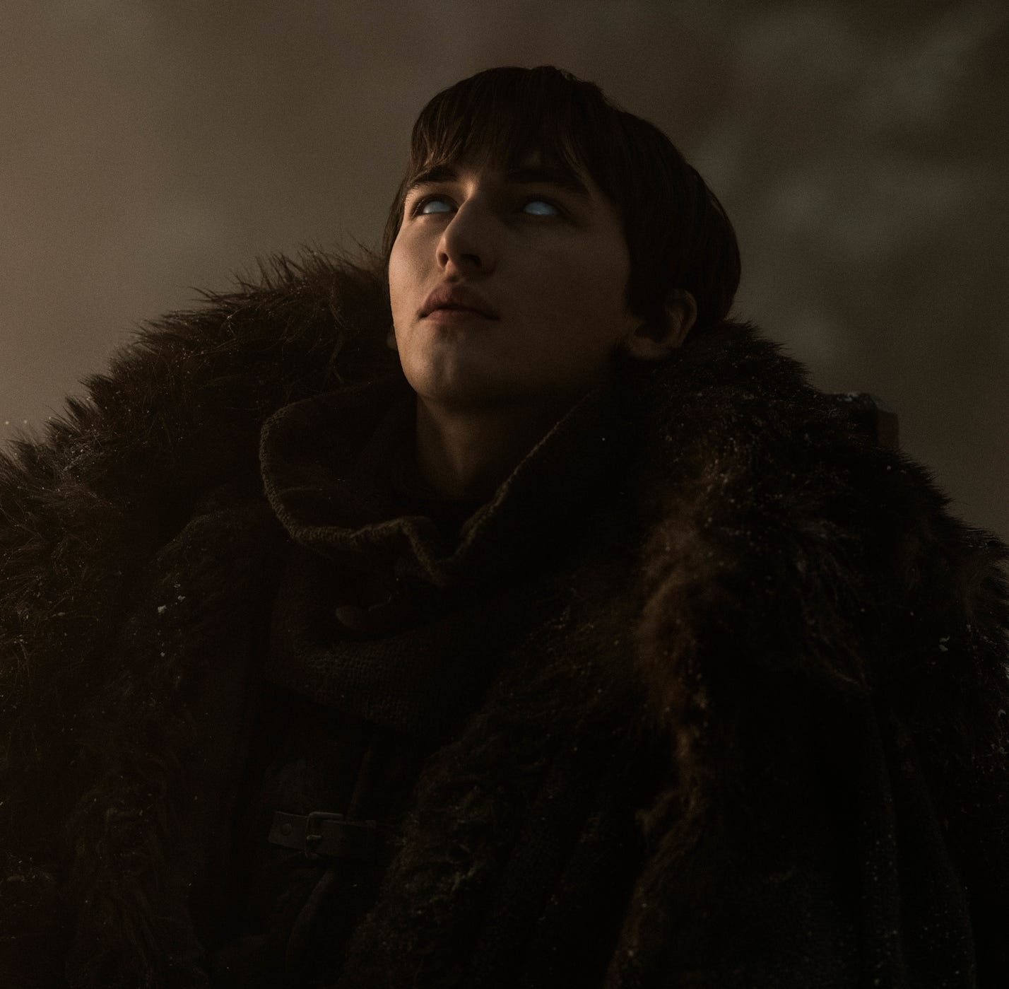 Three-Eyed Raven Bran (Isaac Hempstead Wright) is the bait to lure the Night King in 'The Long Night,' Sunday's episode of 'Game of Thrones.'