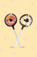 The Frosted Doughnut Cake Pop.