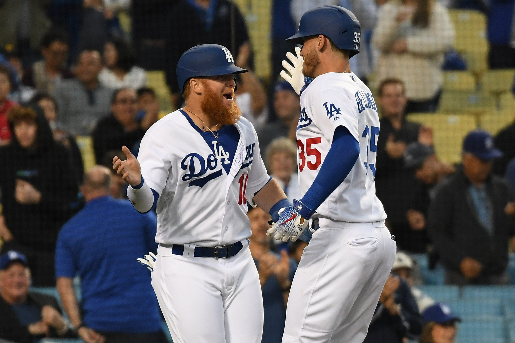 The Dodgers started the season 19-11.