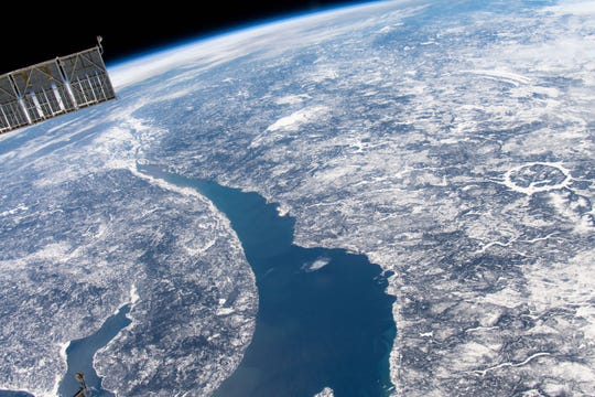 The Manicouagan impact crater in Quebec, Canada, is one of our many reminders that asteroids have impacted Earth.