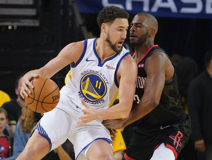 Image result for paul warriors 2019 nba playoffs