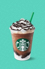 The Mocha Cookie Crumble Frappuccino.