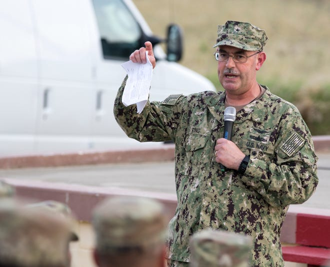 Task Force Guantanamo commander John Ring was relieved of his command.